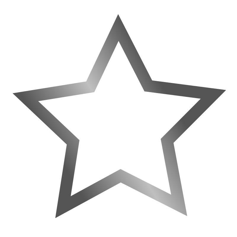 Outlined Star Icon Clipart png free, Outlined Star Icon transparent png
