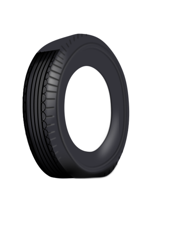 Duesi Tire Vector Clipart png free, Duesi Tire Vector transparent png