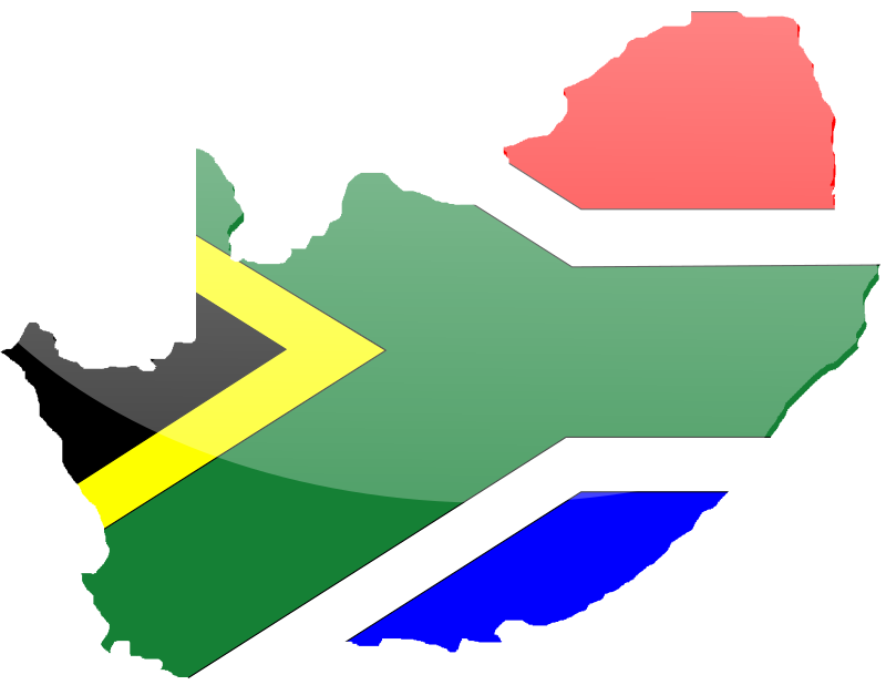 South African Flag 2 Clipart png free, South African Flag 2 transparent png