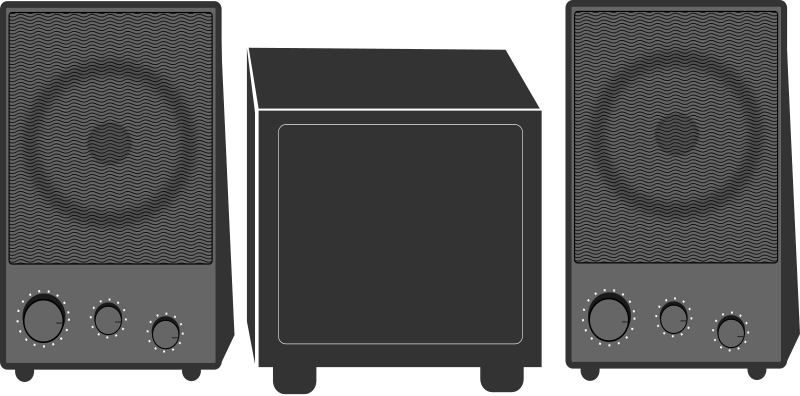 Speakers Clipart png free, Speakers transparent png