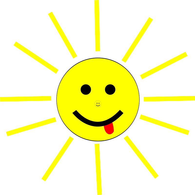 Funny Sun Face Cartoon Clipart png free, Funny Sun Face Cartoon transparent png