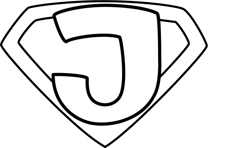 Super Jesus Enhanced Outline Clipart png free, Super Jesus Enhanced Outline transparent png