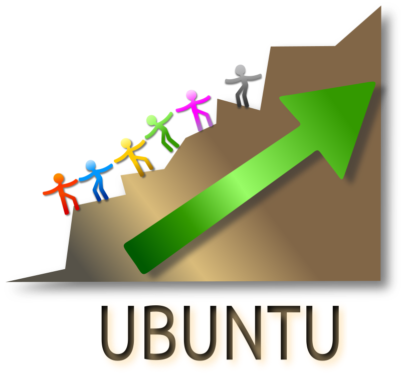 The Ubuntu Concept Clipart png free, The Ubuntu Concept transparent png
