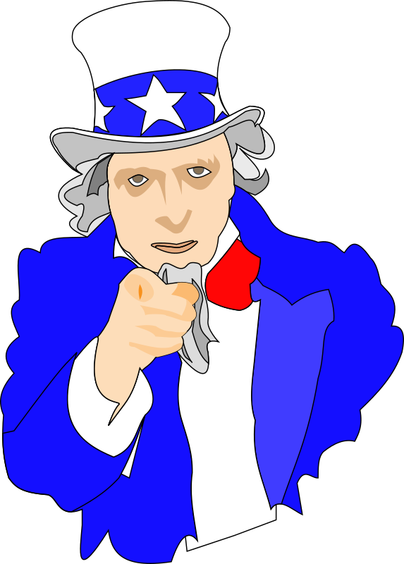 Uncle Sam Clipart png free, Uncle Sam transparent png