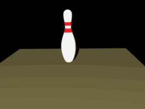 Bowling 5 Leave Clipart png free, Bowling 5 Leave transparent png