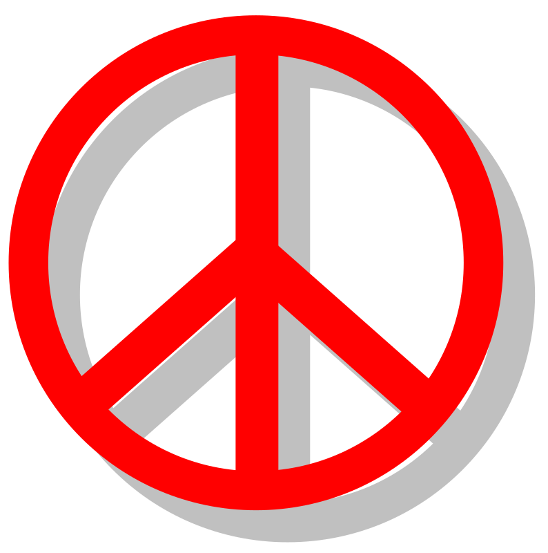 Peace Sign Clipart png free, Peace Sign transparent png