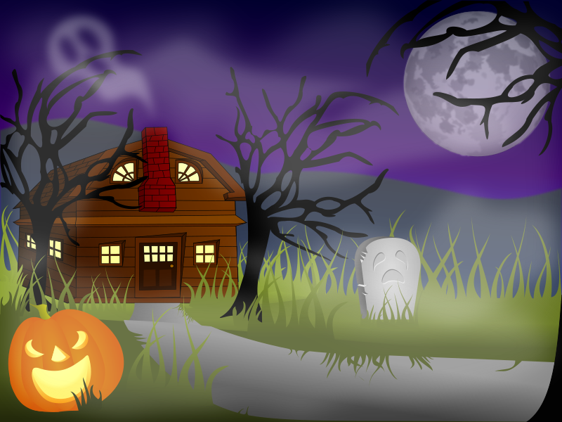 Halloween Haunted House Fog Clipart png free, Halloween Haunted House Fog transparent png