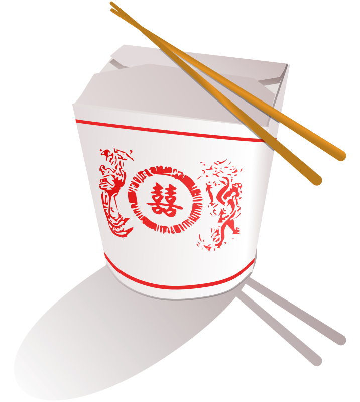 Chinese Fast Food Clipart png free, Chinese Fast Food transparent png