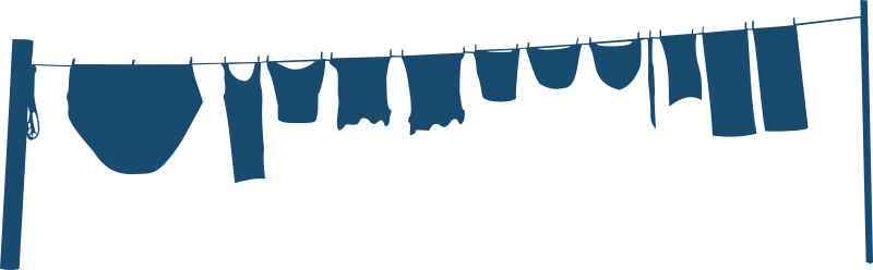 Clothes Line Clipart png free, Clothes Line transparent png