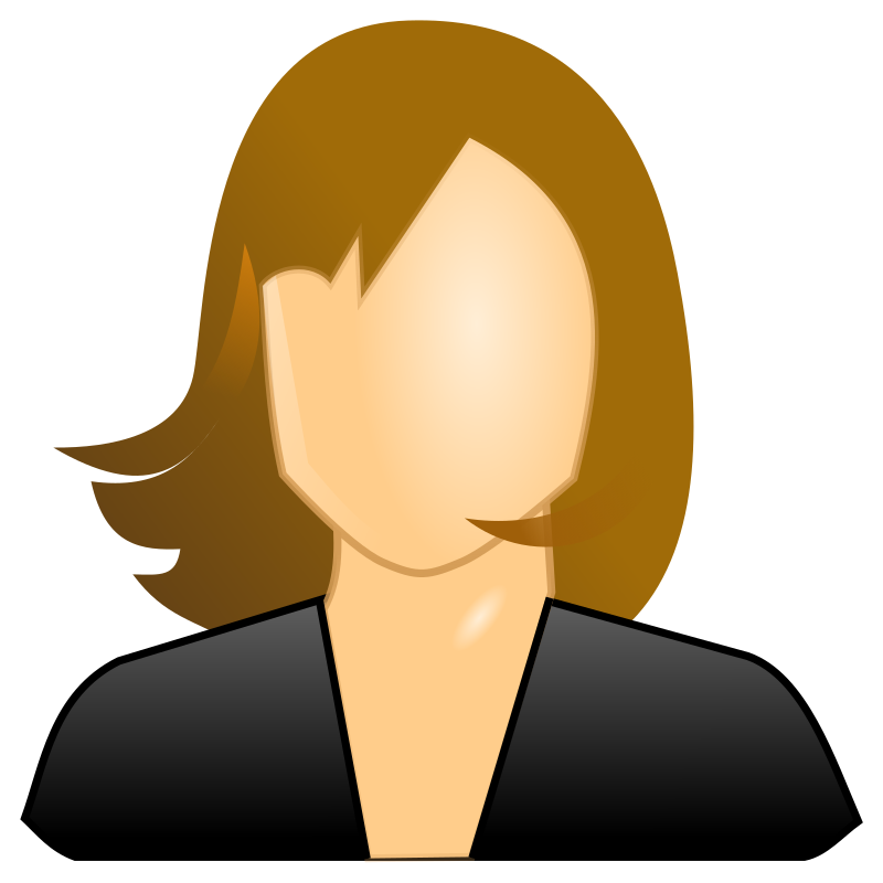 Female User Icon Clipart png free, Female User Icon transparent png