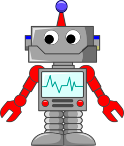 Cartoon Robot Clipart png free, Cartoon Robot transparent png