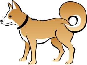 Eskimo Dog Clipart png free, Eskimo Dog transparent png