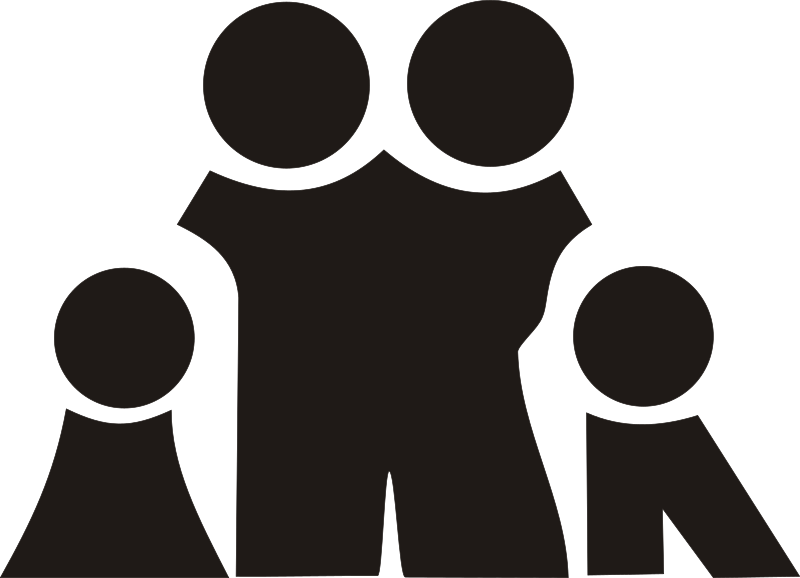 Family Clipart png free, Family transparent png