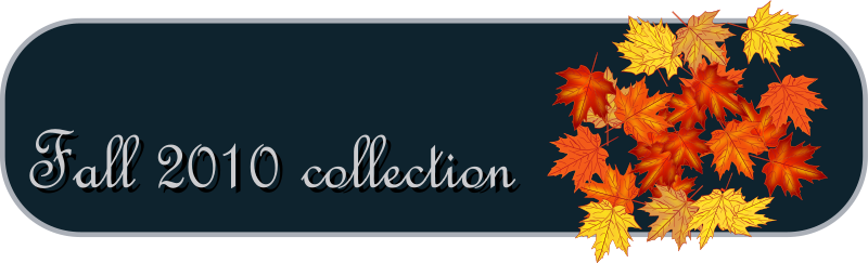 Fall Collection Tab Clipart png free, Fall Collection Tab transparent png
