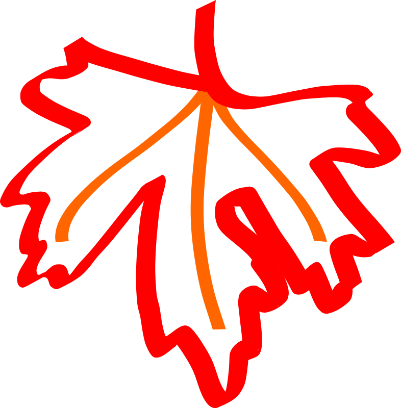 Draw Me A Leaf Clipart png free, Draw Me A Leaf transparent png