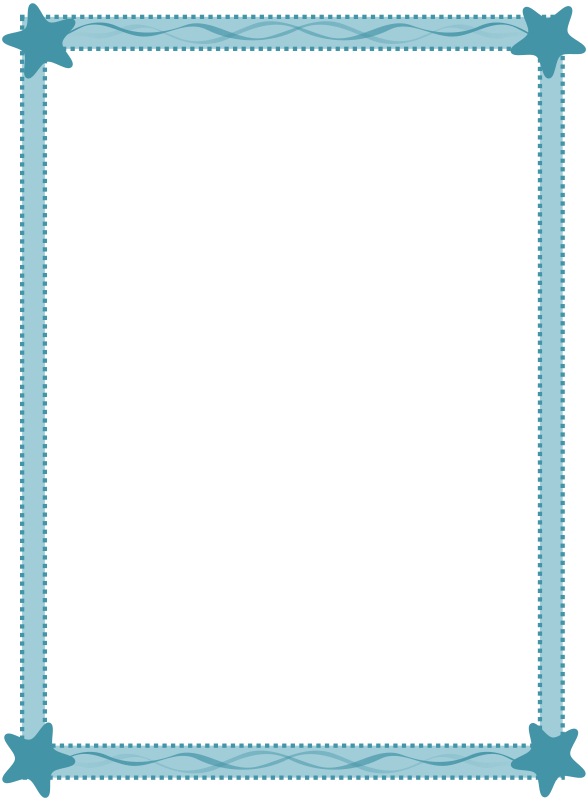 Sea Frame Clipart png free, Sea Frame transparent png
