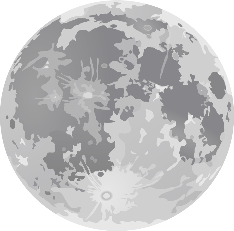 Full Moon Dan Gerhards 01 Clipart png free, Full Moon Dan Gerhards 01 transparent png