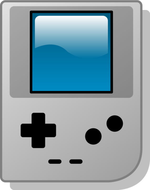 Game Boy Clipart png free, Game Boy transparent png