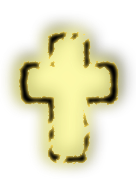Glowing Cross Clipart png free, Glowing Cross transparent png