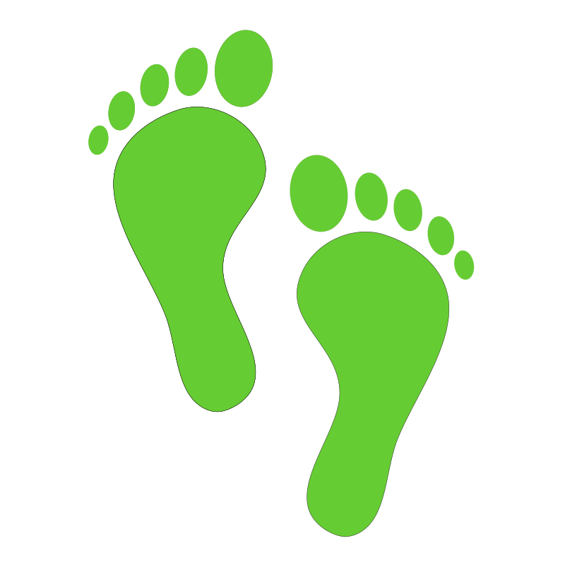 Green Steps Clipart png free, Green Steps transparent png