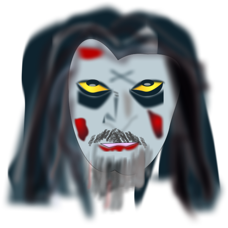 Halloween Zombie Makeup Clipart png free, Halloween Zombie Makeup transparent png