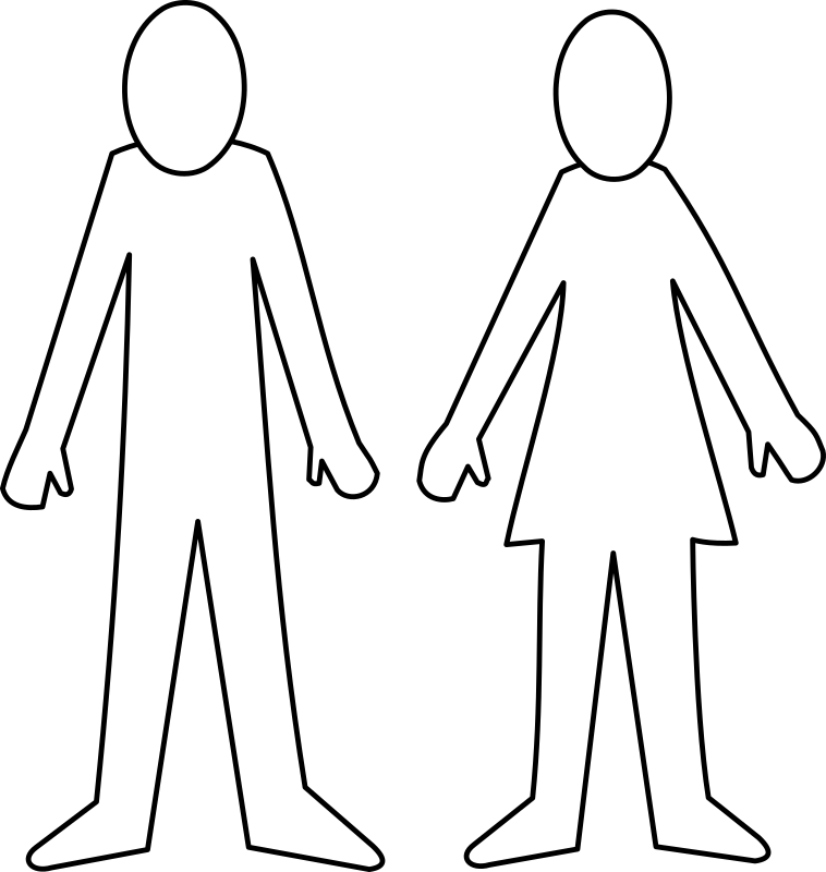 Homme Et Femme / Man And Woman Clipart png free, Homme Et Femme / Man And Woman transparent png