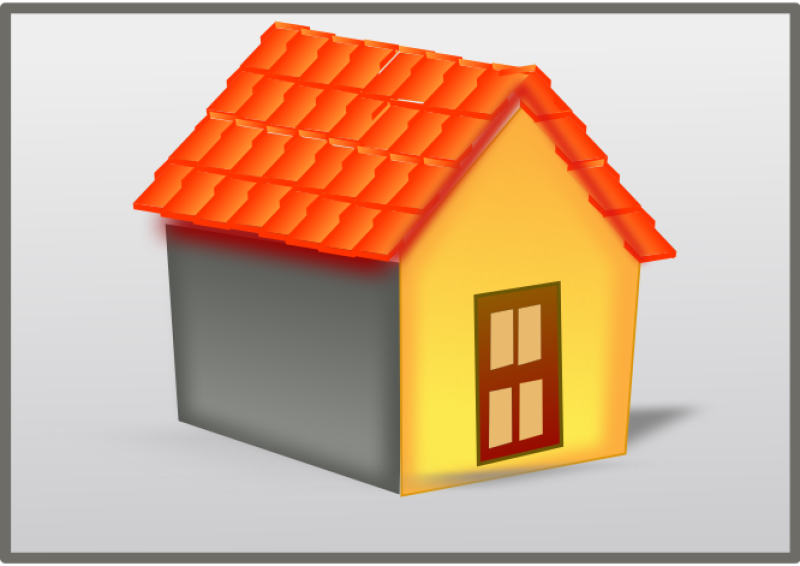 House Tiled Roof Clipart png free, House Tiled Roof transparent png