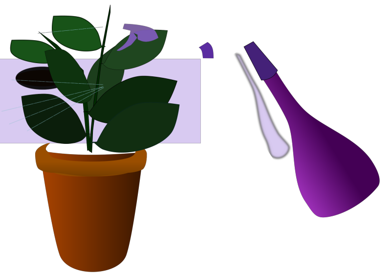 Caring For Houseplants Clipart png free, Caring For Houseplants transparent png