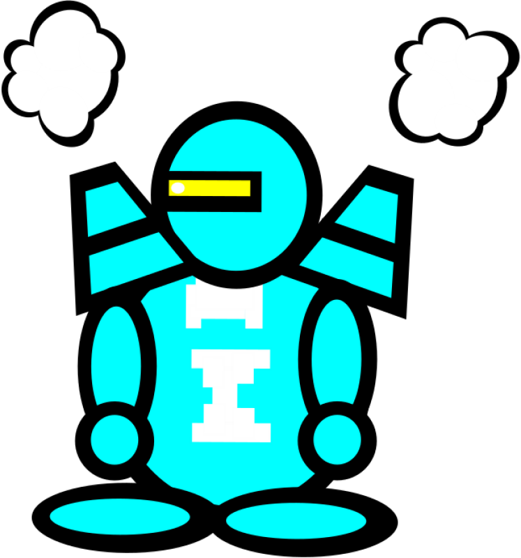 Cool Bot Clipart png free, Cool Bot transparent png