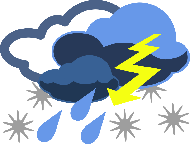 Inclement Weather Clipart png free, Inclement Weather transparent png
