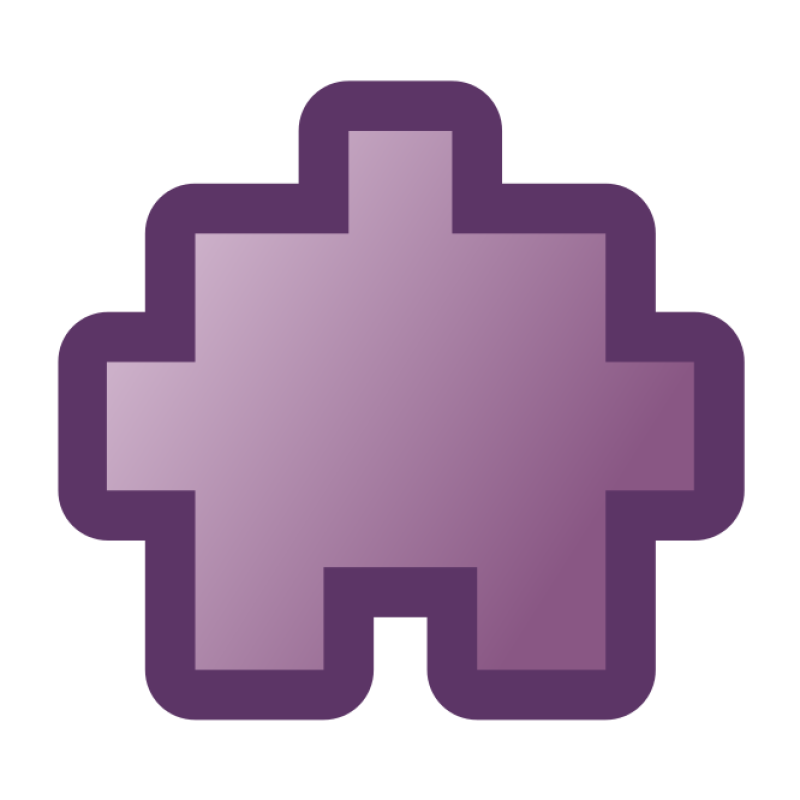 Icon Puzzle Purple Clipart png free, Icon Puzzle Purple transparent png
