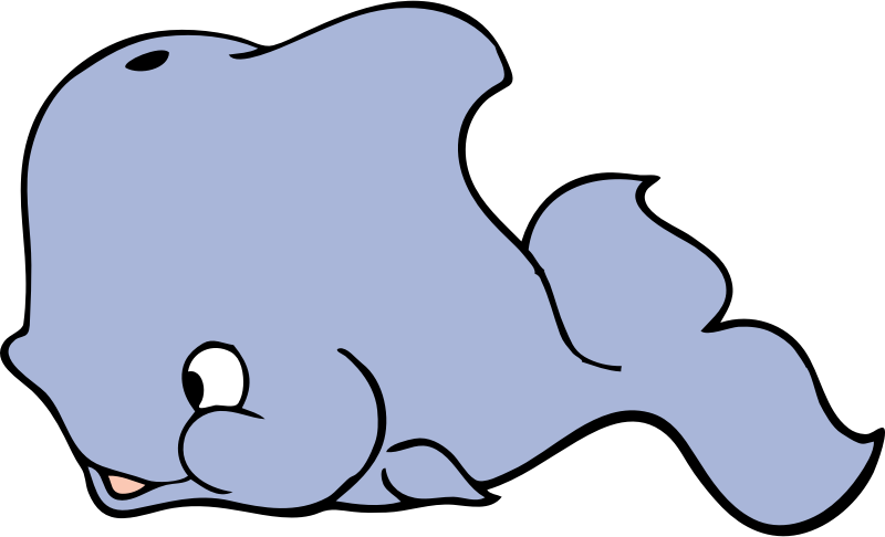 Cute Whale Clipart png free, Cute Whale transparent png