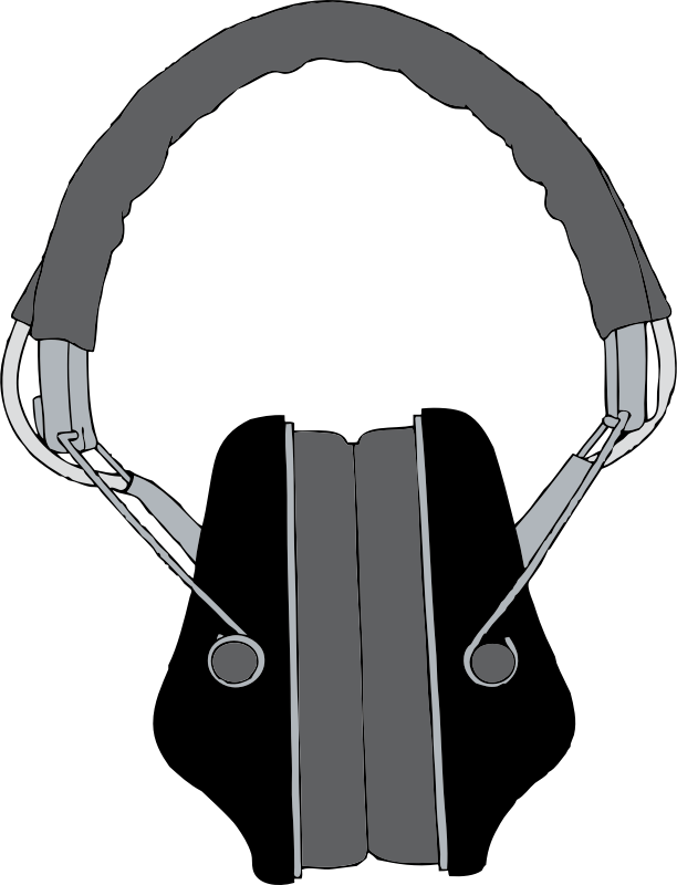 Headphones 2 Clipart png free, Headphones 2 transparent png