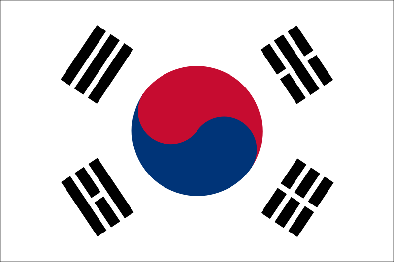 South Korean Flag Clipart png free, South Korean Flag transparent png