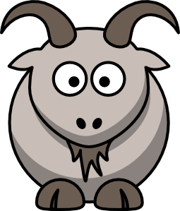 Cartoon Goat Clipart png free, Cartoon Goat transparent png