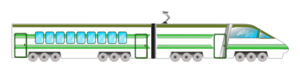 Locomotive Green Clipart png free, Locomotive Green transparent png