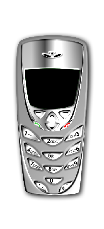 Mobile Phone 01 Clipart png free, Mobile Phone 01 transparent png