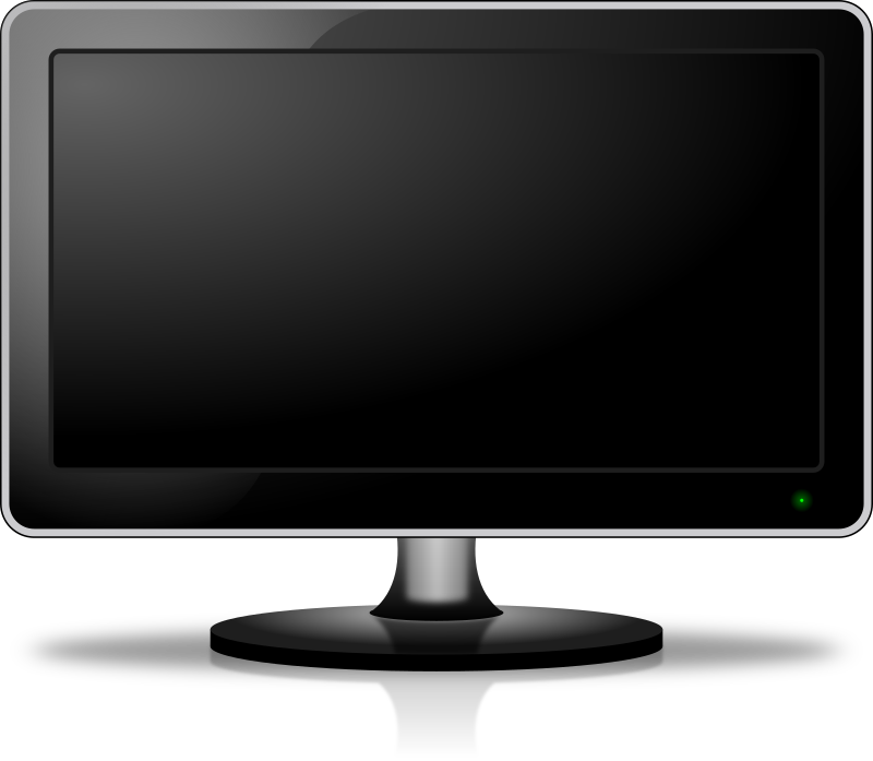 Monitor Screen Clipart png free, Monitor Screen transparent png