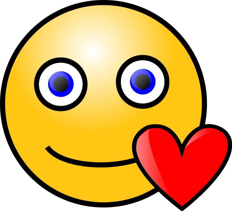 Emoticons: Loving Face Clipart png free, Emoticons: Loving Face transparent png