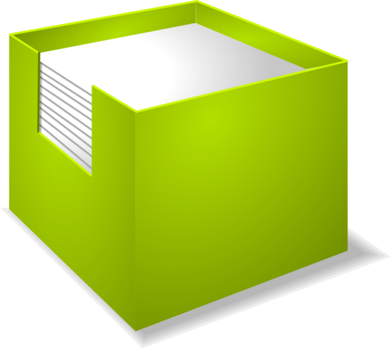 Note Box Clipart png free, Note Box transparent png
