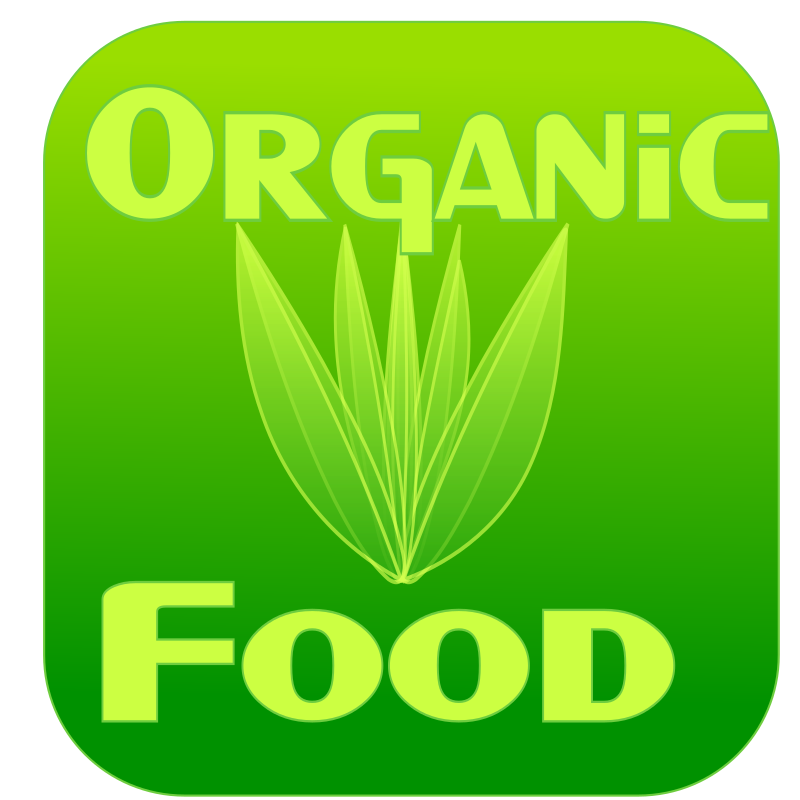 Organic Food Label Clipart png free, Organic Food Label transparent png