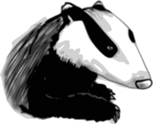 Badger Clipart png free, Badger transparent png