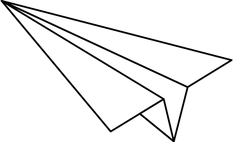 Paper Airplane Clipart png free, Paper Airplane transparent png