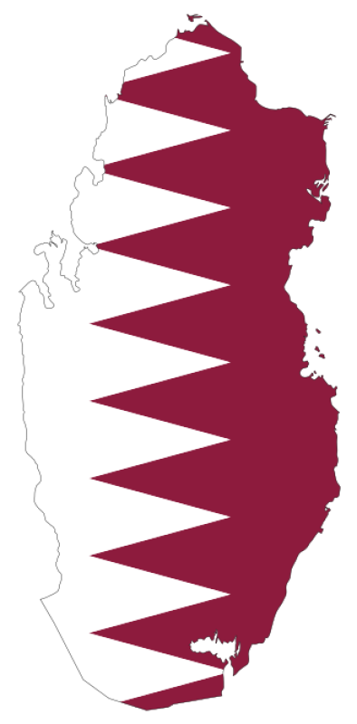 Flag Of Qatar Clipart png free, Flag Of Qatar transparent png