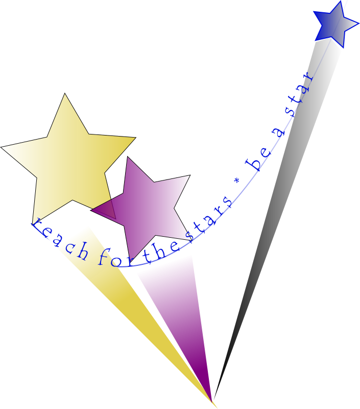Reach For The Stars Clipart png free, Reach For The Stars transparent png