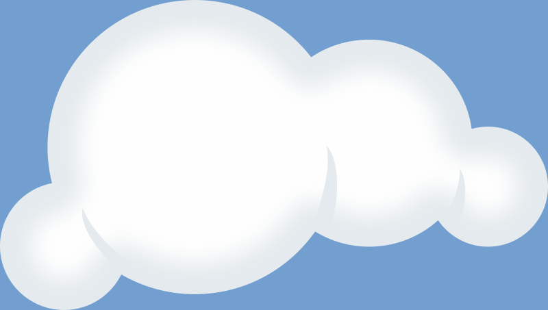 Set Of Soft Clouds Clipart png free, Set Of Soft Clouds transparent png