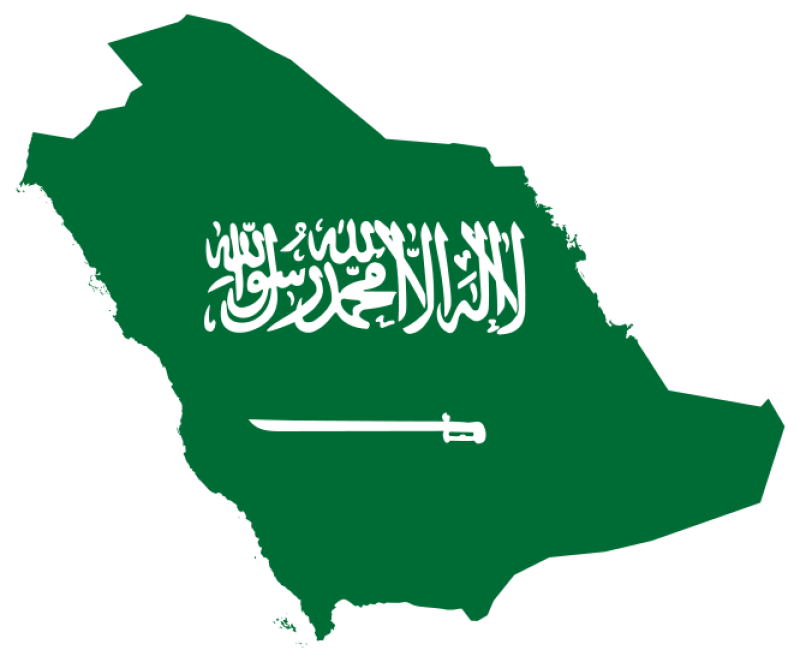 Flag Of Saudi Arabia Clipart png free, Flag Of Saudi Arabia transparent png