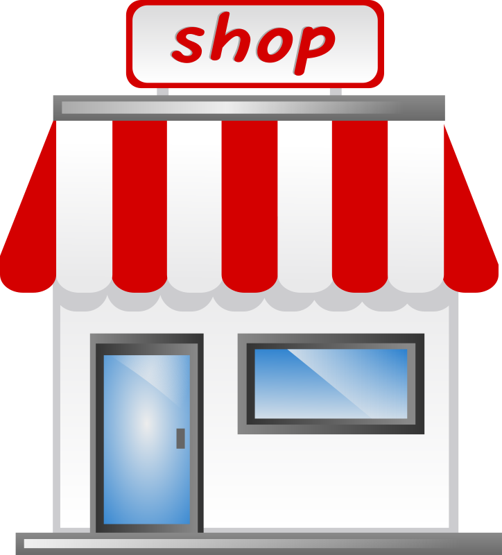 Shop Front Icon Clipart png free, Shop Front Icon transparent png