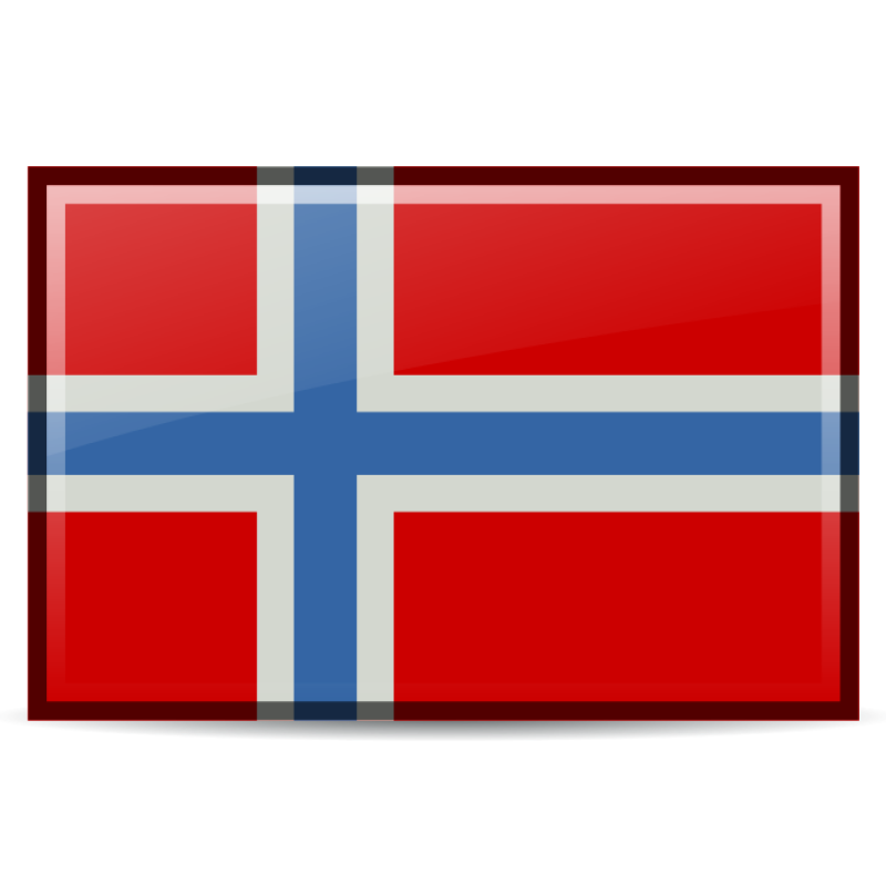 Flag Of Norway Clipart png free, Flag Of Norway transparent png