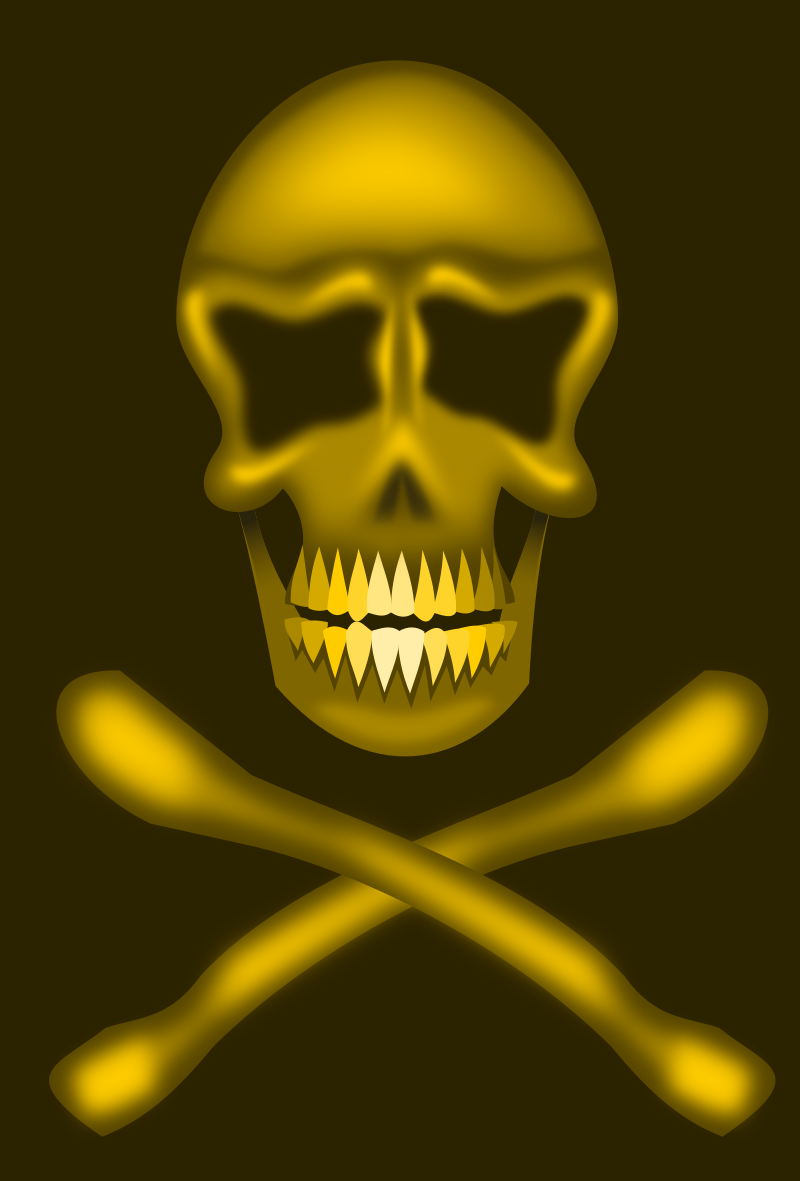 Skull And Cross Bones? Clipart png free, Skull And Cross Bones? transparent png